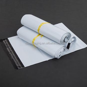 Custom White Poly Mailer Plastic Shipping Mailing Bag Envelopes Courier