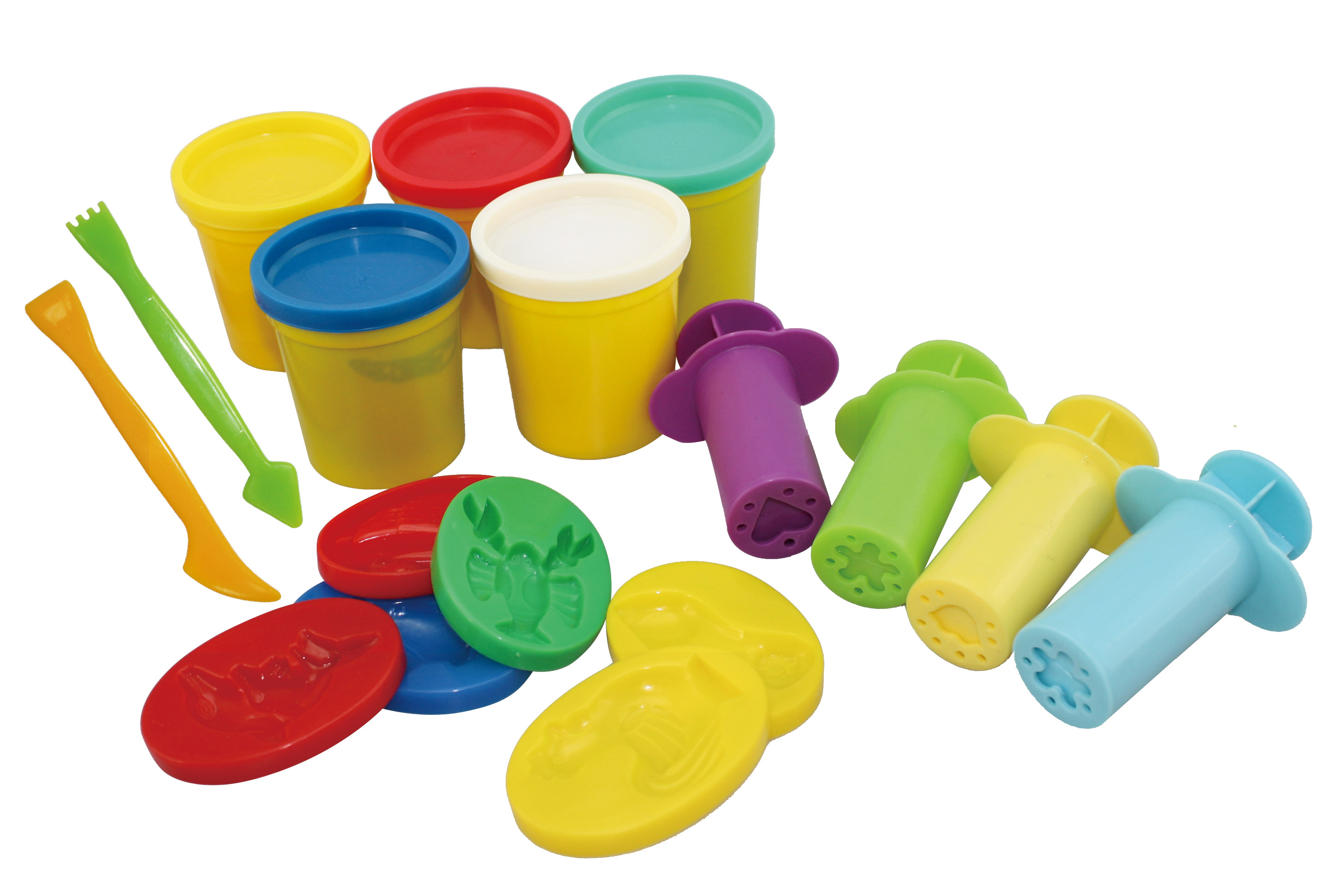 Support wholesale kids color play dough, non-dry play dough, clay for modeling