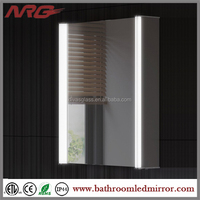 Surface Mount Backlit Mirror Medicine Cabinet With Light