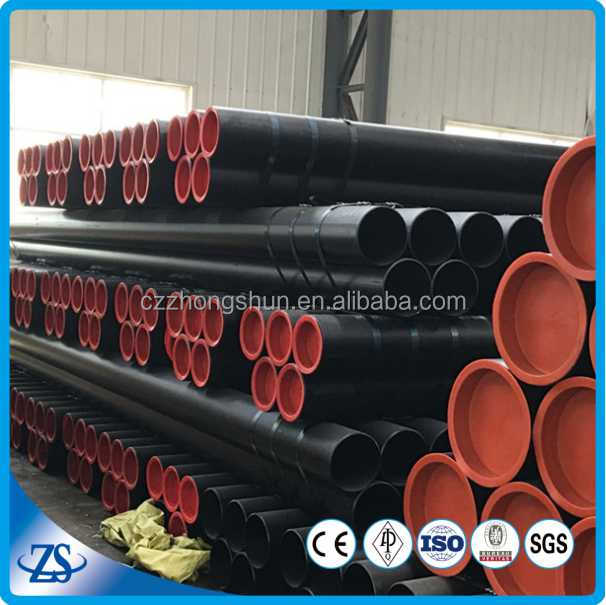 Hot rolled ST44 ASTM A53/A106 GR.B Carbon Steel Pipe seamless steel pipe