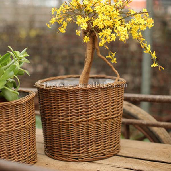 Populaire Paniers En Osier Pour Plantes Décoration Intérieure Fleurs  XW56