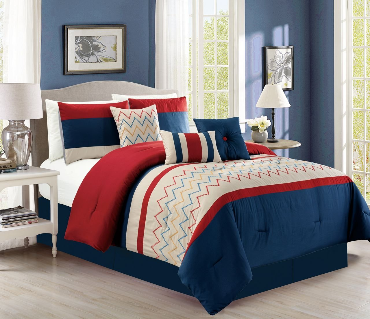 interiors products nz comforter amazing cordelia red