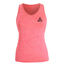 OEM 100% cotton gym quick slim fit quick dry running sports pink women gym tank top