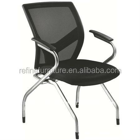 pliage chaise de bureau sans roulettes rf-t002b-chaise de bureau ... - Chaise De Bureau Sans Roulette