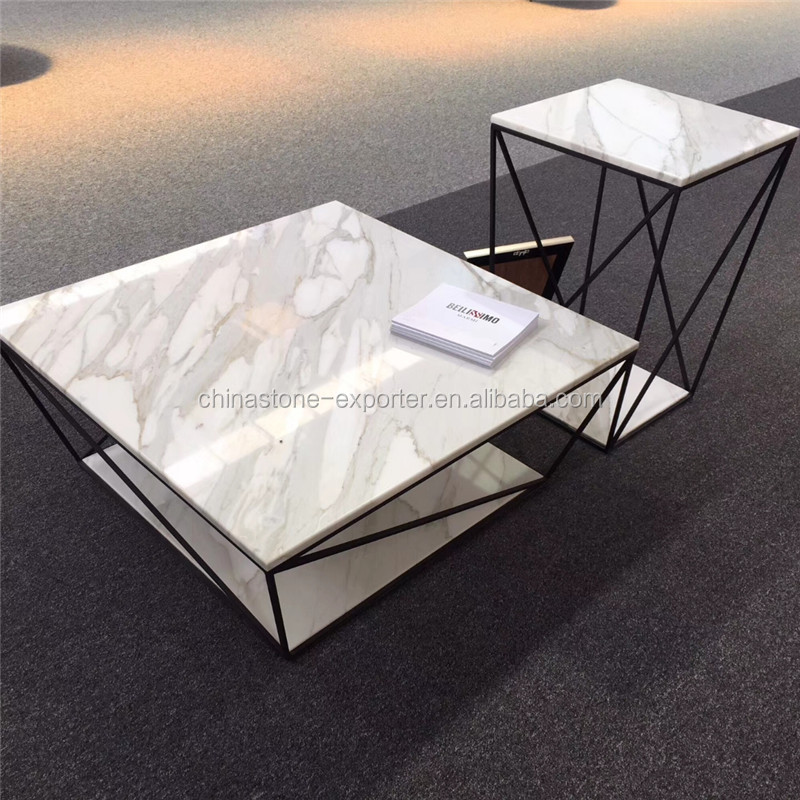 White Marble Coffee Table.Hot Style Marble Coffee Table Metal Desk Legs White Marble Table Top Buy Round Marble Top Coffee Table Marble Top And Metal Leg Dining