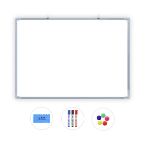 Office Message Board Wall Mounted Magnetic Soft Whiteboards With Marker