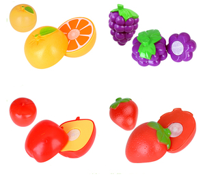 Fruits and Vegetables Cutting Toys Pretend Play Kitchen Toy