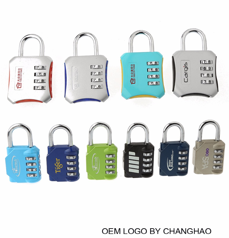 CH-007H produce gym fitness combination pad lock