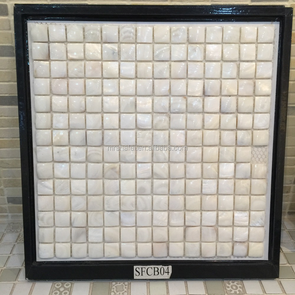 backsplash mother of pearl shell mosaic tiles