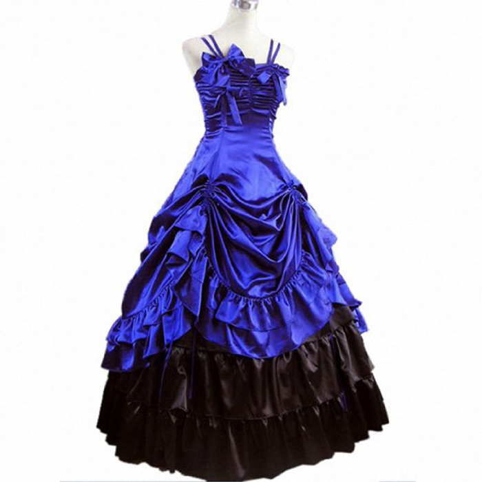 Get Quotations · lolita dress adult halloween costumes for women party  victorian dress medieval ball gowns cosplay Prom fancy 5abe5335d15c