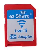 ezshare High Speed Wireless WIFI WLAN SD Card Adapter , Micro ez share SD card to SD Wifi Adapter
