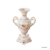 Porcelain embossed patterns with gold foils custom European style luxurious painting big ceramic vase flower