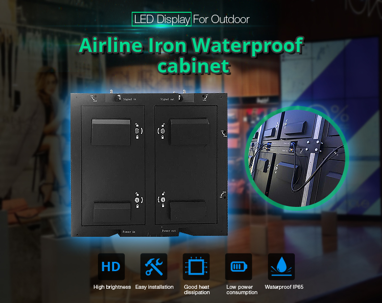 best quality video led video display only picture by linsn controller