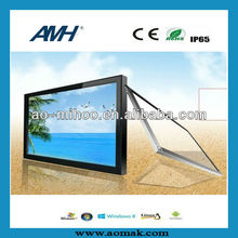 "Multi-touch 15""-26"" touch monitor front frame, IR touch bezel, ir touch screen frame"