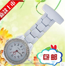 Japan movt stain steel back watch for doctor po[pular nurse watch alibaba China 2015 quartz custom logo for nurse