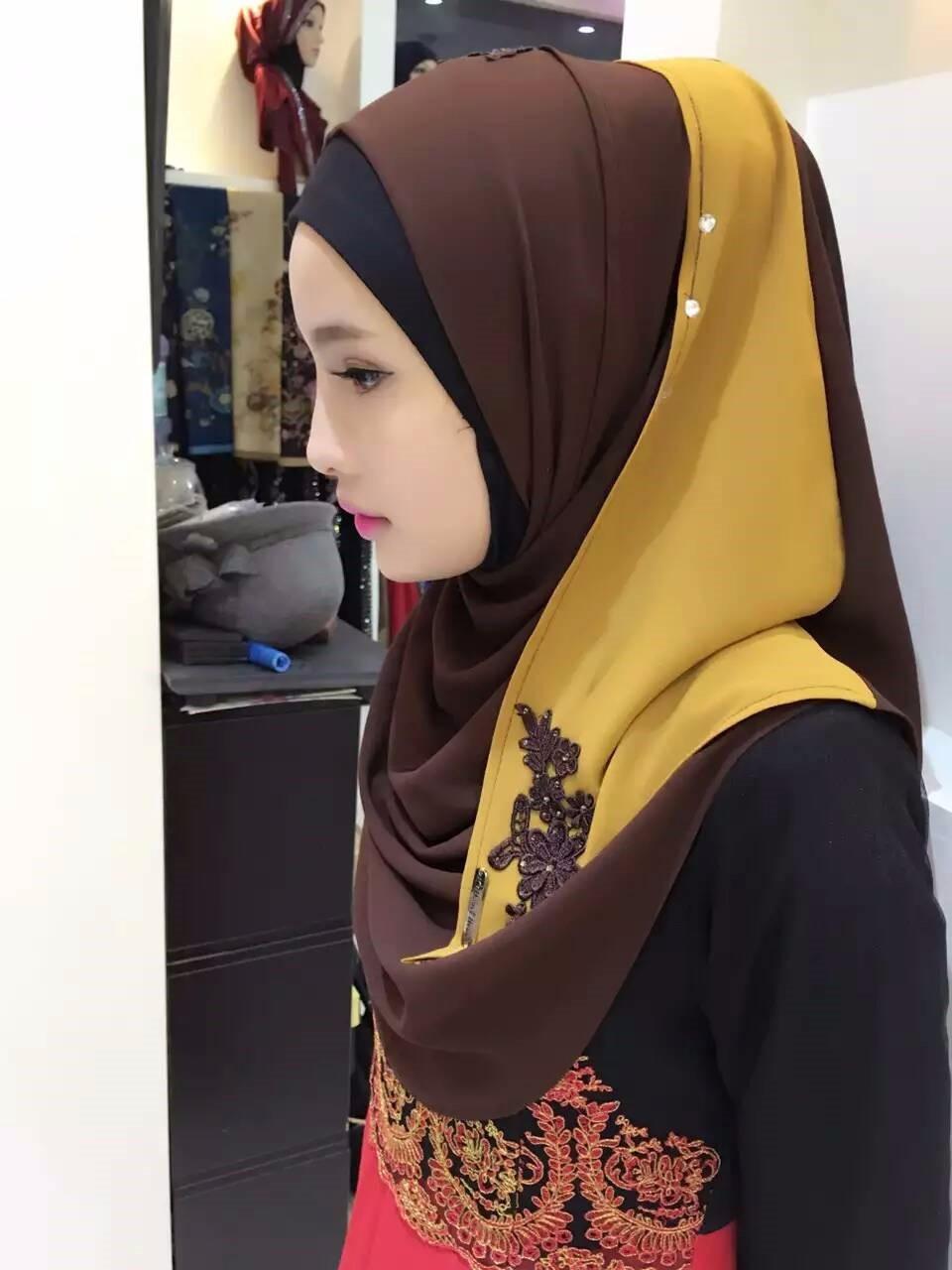 2016 new arrive women muslim hijab scarf dubai - buy dubai hijab