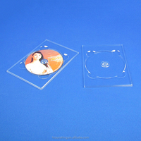 plastic cd dvd digi tray clear digipak tray