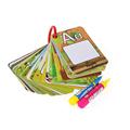 A Z 26 alphabet water painting card book Children water drawing board children colouring book card