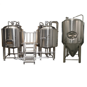 High quality SUS304 beer making machine alcohol brewing equipment