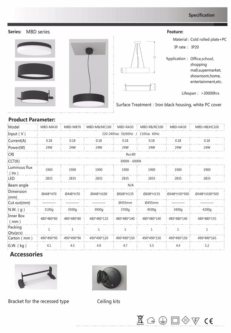 Zhongshan Manufacturer Hanging Lighting Acrylic Chandelier Parts ...