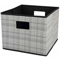 Inside handle Square Fabric Feature hat storage boxes for car trunk