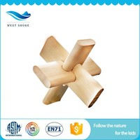 Factory Directly Sell 3d puzzle ball wood toy sensoryeducational lesson plans With Long Life