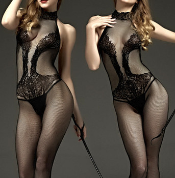 New Fashion Women And Girl Mesh Nylon Body Lace Silk Stocking Sexy Bodystocking