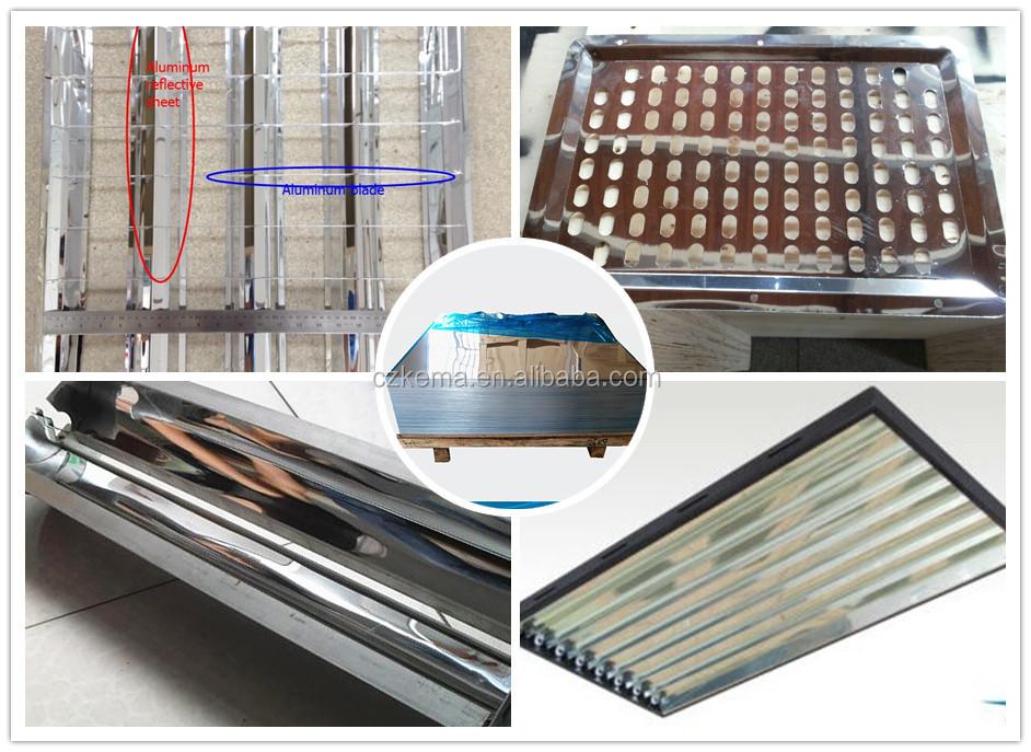 T8 Fluorescent Light Fixture Cover Reflective Mirror Paper