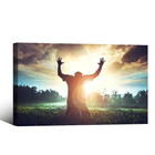 Islamic Muslim Pilgrimage painting motivational canvas wall art for living room