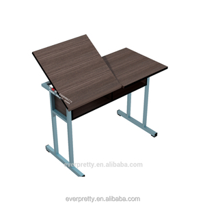 Double art drawing folding table for study