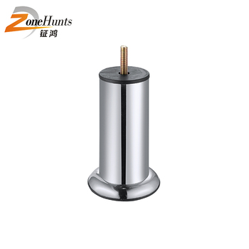 rBedroom Best Beautiful Modern Chrome Iron Metal Adjustable furniture Screw Mount Funiture Sofa Leg Metal Round Base For Chair
