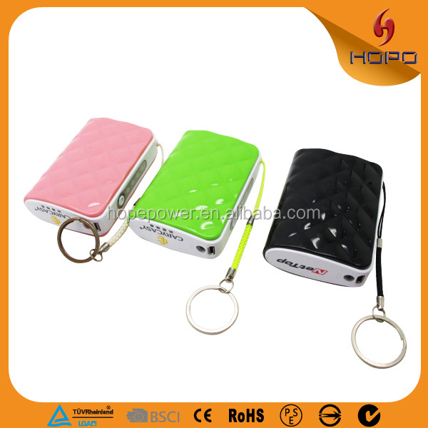New Arrive Mobile Phone Mini USB Charger Power Bank Hot selling products power bank for smartphone