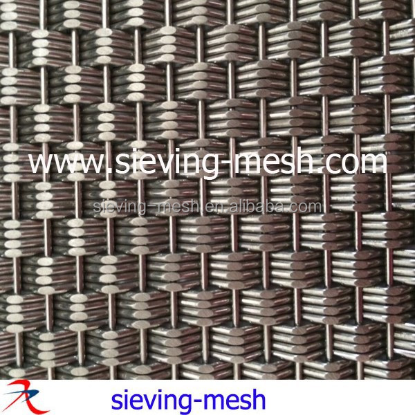 304 316 Stainless Steel Decorative Wire Mesh For Elevator Cab ...