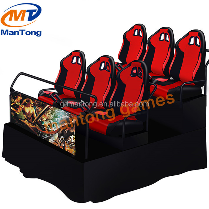 Hydraulic And Electric System 5D Home Cinema Simulator 5D Theater Motion Chair Product From Chinese Supplier