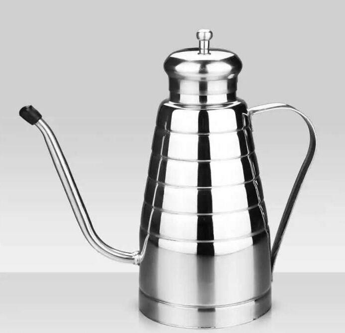 FDA certification 500ml metal Oilcan Oiler Oil Kettle Oil Cruet