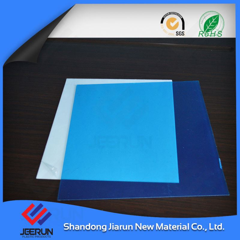 Strict Inspection Process New Fashion Pe Blue Printed Plastic Potective Film