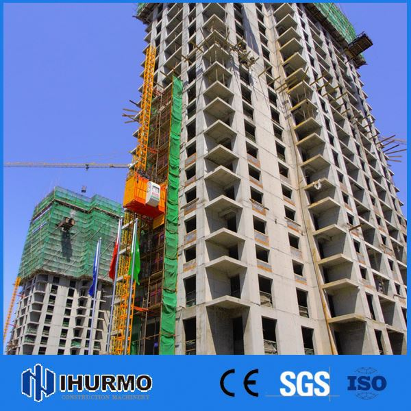 Hot sale building construction equipment and construction hoist with ce & iso approved