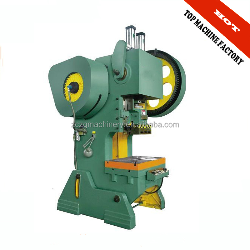 J23 series 40 ton open type inclinable power press, hole puncher supplier