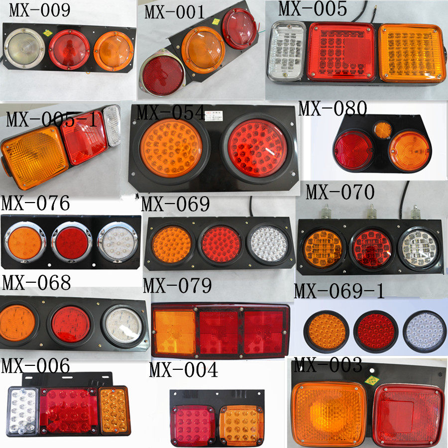 Truck LED Lamp Type and Tail Light Type Led Rear Combination Light