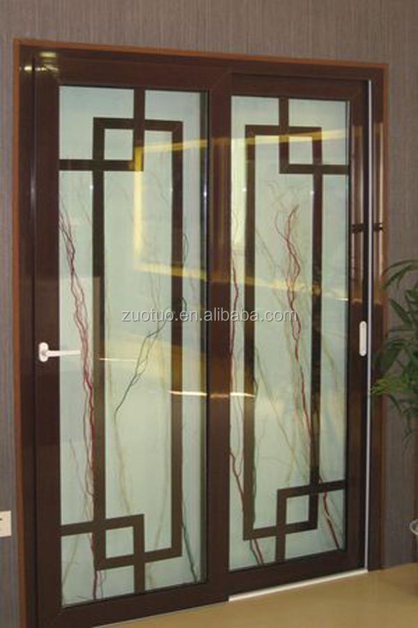Aluminium sliding door for house glass sliding door buy for Puertas para oficinas interiores