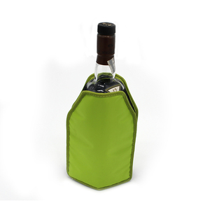 High quality recyclable wine gel ice pack bottle cooler