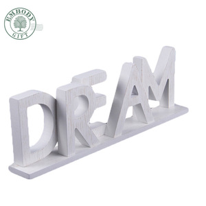 Custom Home Art Fancy Dream Design Alphabet Decorative Wooden Letters