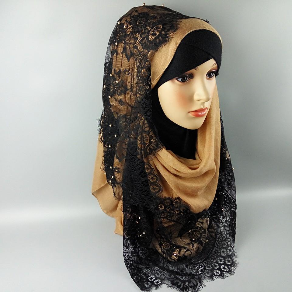 Fashion Design Arab Women Muslim Hijab Scarf Islamic Lace Hijab Buy Islamic Fashion Party