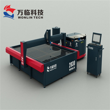 CNC five-axis bridge saw stone cutting machine used for decoration marble tile parquet