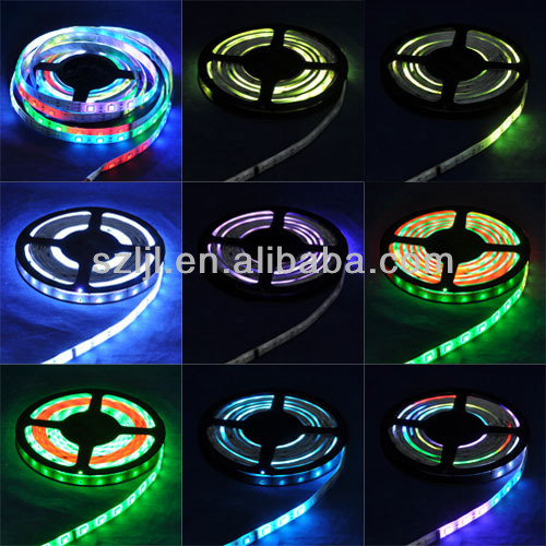 Magic digital dream color rgb led strip 2811 IC/ waterproof 5050 led strip light