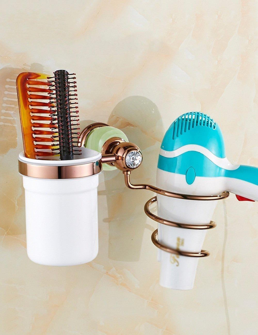 The Racks Europe style room bathroom hairdryer Copper Gold Rack Hairdryer ( color: Size: 1 , B )