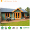 prefabricated wooden log house