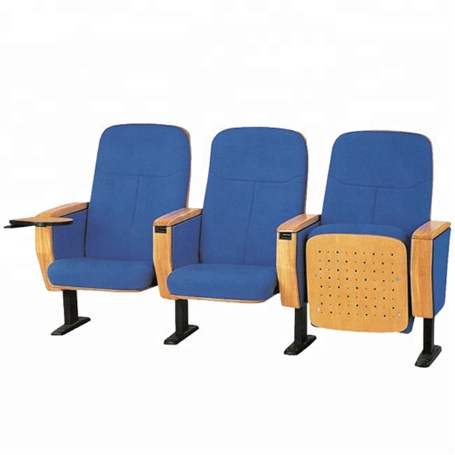 Price Wooden Folding Auditorium Chairs And Desks In Theater