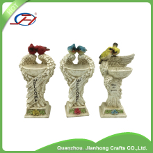 wholesale garden statues gift animal home decoration resin bird figurines