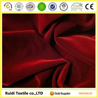 velvet fabric price/dubai velvet fabric/Red velvet upholstery fabric
